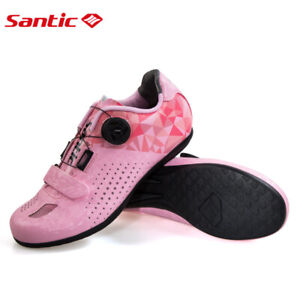 Santic Women Cycling Unlocked Shoes Reflective Road Bike Bicycle MTB Shoes