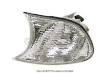 BMW E46 (2000-2001) Turn Signal Light w/ White Lens Front LEFT (Driver Side) TYC