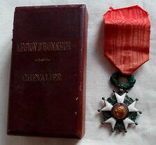 CROIX CHEVALIER LEGION HONNEUR 1870 guerre 1914 1918 ORIGINAL FRENCH MEDAL