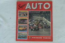 Ancien album PANINI Super AUTO de 1977 complet à 70 %