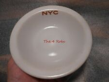 """New York Central Railroad China Mercury Cereal Bowl 6"""""""