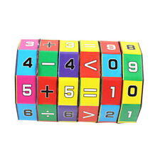Mathematics Numbers Magic Cube Toy Puzzle Game Gifts Toys For Children Kids