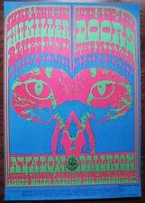 1967 Moscoso The Doors Steve Miller Family Dog Fillmore Poster Fd 64 Mint