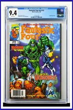 Fantastic Four #v3 #13 CGC Graded 9.4 Marvel January 1999 White Pages Comic Book