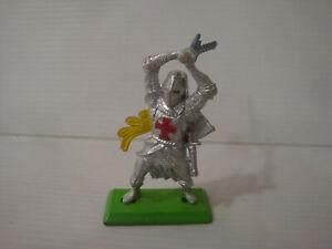 Figurine Old Britains Deetail 1971 - Knight Medium Age N°7