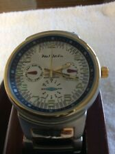 Men,s. watch. Gold and silver Paul Jardin japan movement water resistant