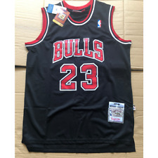 Michael Jordan Chicago Bulls #23  Black Jersey Size:XL
