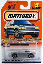 Matchbox #5 Porsche Boxster With MB 2000 Logo New On Card