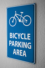 Tin Sign Sports Bicycle parking