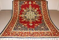 Large Persian Handmade Wool Rug Carpet Runner,Antique Oriental Home Decor 6x4