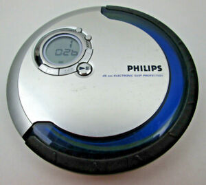 Philips CD Disc Player AX52 19/17 45 Sec Electronic Skip Protection TESTED WORKS