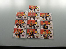 WBS Penguins 2007-2008 Jersey Card Lot Engelland Bonvie  6 Signed Pittsburgh