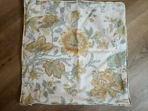 """Pottery Barn """"Marie Palampore - Yellow"""" 18"""" Pillow Cover"""