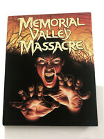 Vinegar Syndrome Memorial Valley Massacre Blu-ray w/ Slipcover Limited Edition
