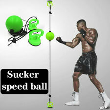 Suction Hanging Boxing Speed Ball Adult Fitness Training Equipment W/Storage Bag