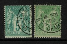 France SC# 67, Used, two color varieties, see notes - S1488