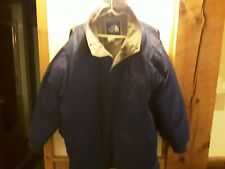 The North Face Men's size xL very warm navy blue good condition no hood