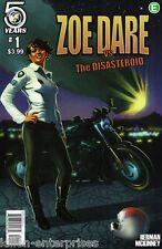 Zoe Dare Vs Disasteroid #1 Cover A Comic Book 2016 - Action Lab