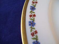 Vintage PL Limoges M. Redon Porcelaine Limousine Martial Dinner Plate France