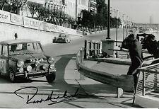 Paddy Hopkirk Hand Signed Mini-Cooper 12x8 Photo 5.