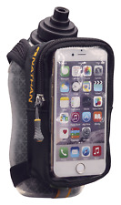 Nathan Handheld Water Bottle and Phone Case for Running/Walking. Insulated 18