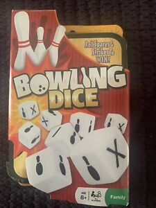 NEW FUNDEX GAMES BOWLING DICE GAME IN METAL BOX