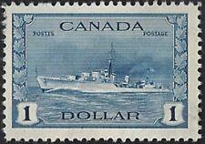 Canada   # 262  Tribal Class Destroyer   New  Issue 1942 Pristine Gum     (.010)
