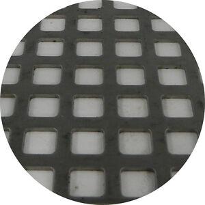 Stainless Steel 304 Perforated Sheet 2m x 1m x 1.5mm C8 U12 Bin 125 - 520115216