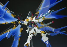Rare Robot Spirits Soul Strike Freedom Gundam First ver. &  Wing effect Full Set