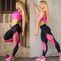 Womens Compression Sports Skin Tights Trousers Running Hot Yoga Pencil Pants New