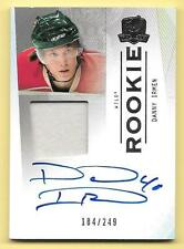 09/10 UD The Cup #177 Danny Irmen Patch On Card Autograph RC #184/249