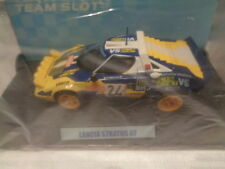11504 Team Slot Lancia Stratos Olio Fiat - New Scalextric SCX