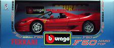 10 BURAGO FERRARI F50 HARD TOP 1995 ROUGE 1 18