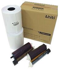 """HiTi P520L / P525L Printers 4x6"""" Print Kit, 2 rolls per box, 500 prints per roll"""