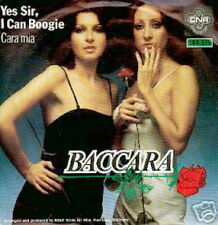 BACCARA 45 TOURS HOLLANDE YES SIR I CAN BOOGIE