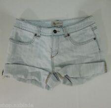 BCBG GENERATION Destructed Light Blue Denim  Bermuda Shorts size 25