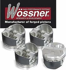 WOSSNER FORGED PISTONS HONDA CIVIC EX COUPE ISR DEL SOL VTEC SOHC TURBO 1.6