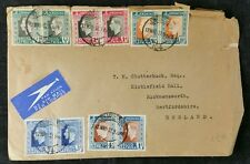 Johannesburg, South Africa 12/5/1937 Coronation Airmail FDC Cover To GB
