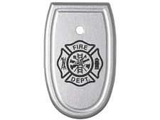 for Smith & Wesson M&P Compact 9mm .40 .357 Mag Base Plate Fire Department Logo