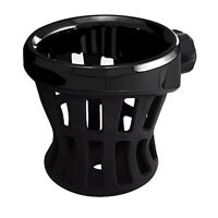 Ciro Black Cup / Drink Holder without Mount for Universal or Replacement Use
