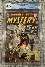 Journey Into Mystery 84 CGC 4.5! CR/OW Pages. First Appearance Of Jane Foster!