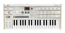 Brand new ex display Korg MicroKorg S Synthesizer & Vocoder (white)