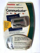 Franklin / Speaking Communicator/ 5 Language Travel tool