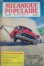 REVUE MECANIQUE POPULAIRE N° 124 ANTARCTIQUE PNEUS PRISON BATEAU FILMS 1956