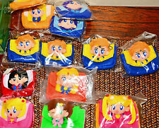 Sailor Moon Japanese Candy Toy Prize plush purse bag keychain key chain key ring