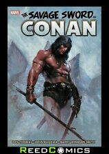 SAVAGE SWORD OF CONAN ORIGINAL MARVEL YEARS OMNIBUS VOLUME 1 HARDCOVER 1072 Pgs.