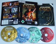 Computerspiel Game BioWare StarWars Knights of the Old Republic 4x CD-ROM