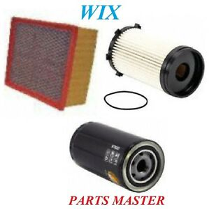 Tune Up Kit Filters For DODGE RAM 4500 L6; 6.7L 2008-2009