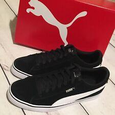 Puma Sneakers 1948 Vulc Black White Leather Suede Shoes Size 7.5 US Men's 40 Eur