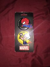 MARVEL SPIDERMAN THOR PIN COMBO KAWAII ART COLLECTION 2017 SDCC EXCLUSIVE PROMO